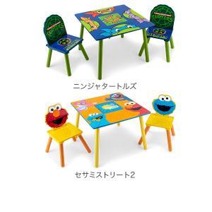 【お盆もあすつく】デルタ Delta テーブル & チェア 2脚 セット Table & Chair Set 子供部屋 キッズ 机 イス 木製 椅子|glv|07