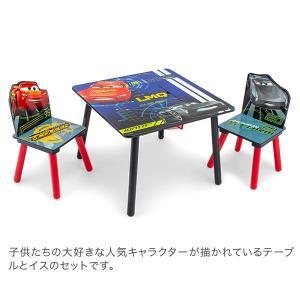 【お盆もあすつく】デルタ Delta テーブル & チェア 2脚 セット Table & Chair Set 子供部屋 キッズ 机 イス 木製 椅子|glv|09