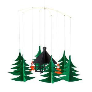 フレンステッド モビール FLENSTED mobilesクリスマスの森 Xmas Forest 086 北欧 glv 02