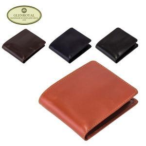 グレンロイヤル Glen Royal 二つ折り財布 コインケース付 03-4128 Wallet with Coin Case メンズ 財布 ウォレット レザー GLENROYAL|glv