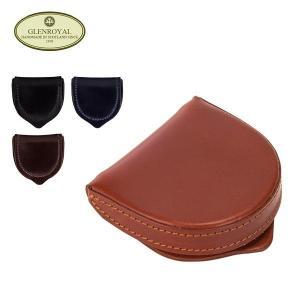 グレンロイヤル Glen Royal 小銭入れ 馬蹄型コインケース 03-6202 coin tray purse メンズ レザー GLENROYAL|glv
