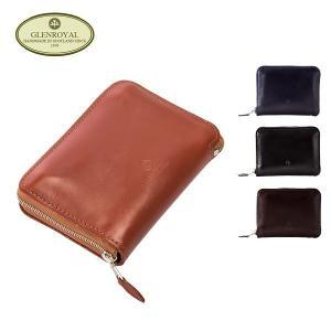 グレンロイヤル Glen Royal ラウンドファスナー財布 小銭入れ 03-4804 zip round purse メンズ レザー GLENROYAL|glv