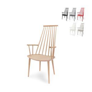ヘイ Hay チェア J110 ダイニングチェア 椅子 FDB Solid Beech 木製 イス インテリア 北欧家具 おしゃれ ラウンジチェア glv