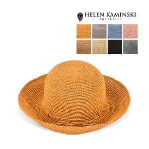 ヘレンカミンスキー Helen Kaminski プロバンス 10 ラフィア ハット 麦わら帽子 Raffia Crochet Provence 10 麦わら 折りたたみ|glv