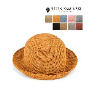 ヘレンカミンスキー Helen Kaminski プロバンス 8 ラフィア ハット 麦わら帽子 Raffia Crochet Provence 8 麦わら 折りたたみ|glv