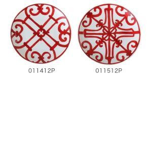 エルメス Hermes ブレッド&バタープレート Balcon du Guadalquivir Bread and Butter plate 皿 17cm 2個セット|glv|03