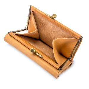 イルビゾンテ Il Bisonte がま口財布 二つ折り財布 C0423 P PORTAFOGLIO 財布 レザー 革 プレゼント glv 12