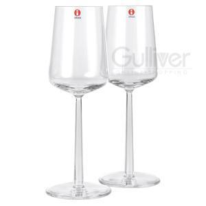 赤字売切り価格イッタラ エッセンス White wine 2pcs ホワイトワイングラス CLEAR クリア 6411929504571/1008567 アルフレッド・ハベ|glv|02