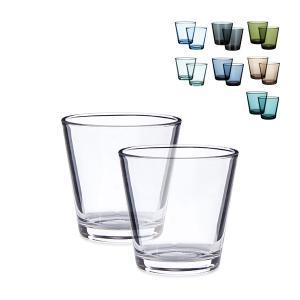 イッタラ iittala カルティオ グラス ペア 210mL タンブラー 北欧 ガラス Kartio Tumbler 2 Set フィンランド コップ 食器|glv