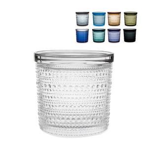 イッタラ iittala カステヘルミ ジャー 116 × 114mm 北欧 ガラス Kastehelmi Jar 蓋付き 保存容器 キャニスター フィンランド キッチン|glv