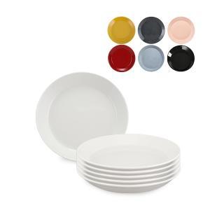 イッタラ 皿 ティーマ 21cm 北欧ブランド インテリア デザイン お洒落 プレート 6枚セット iittala TEEMA 母の日|glv