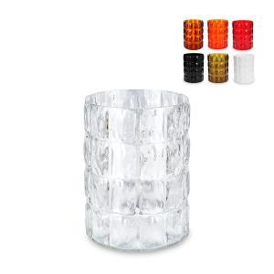 カルテル Kartell マラッセ Matelasse Crystal 1225 花瓶 ゴミ箱 傘立て glv