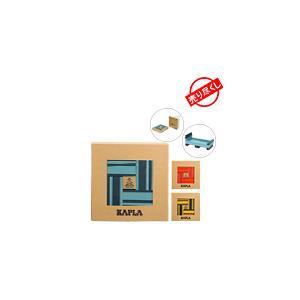 【お盆もあすつく】売り尽くし カプラ おもちゃ 魔法の板 カラー 40枚入 おもちゃ 玩具 知育 積み木 プレゼント Kapla|glv