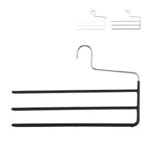 マワ Mawa ハンガー パンツ スリー 35cm KH3 マワハンガー 3連 スカート ストール mawaハンガー 収納 機能的 省スペース|glv