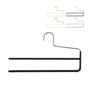 マワ Mawa ハンガー パンツ ダブル 35cm 各5本セット KH2 マワハンガー スカート ストール mawaハンガー 収納 機能的 省スペース glv