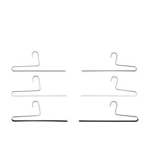 マワ Mawa ハンガー パンツ シングル 35cm 各5本セット KH35 KH35/U マワハンガー スカート ストール mawaハンガー まとめ買い|glv