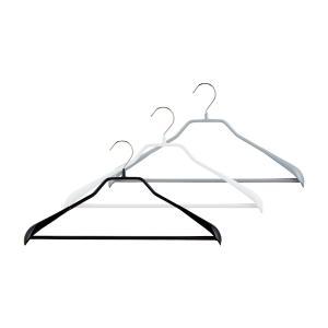 マワ Mawa ハンガー ボディーフォーム バー 42cm / 46cm 各5本セット Bodyform 42/LS 46/LS マワハンガー 収納 滑り落ちない|glv