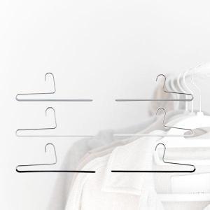 マワ Mawa ハンガー パンツ シングル 35cm 各10本セット KH35 KH35/U マワハンガー スカート ストール mawaハンガー まとめ買い|glv