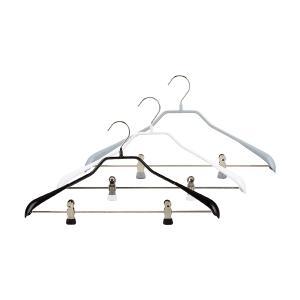 マワ Mawa ハンガー ボディフォーム クリップ 42cm 各5本セット Bodyform 42/LK マワハンガー まとめ買い 収納 滑り落ちない|glv