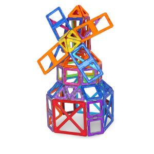 【お盆もあすつく】マグフォーマー Magformers 144 ピース Smart Set スマートセット おもちゃ 玩具 知育玩具 キッズ 63082 空間認識 展開図|glv|04