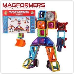 【全品あすつく】マグフォーマー 220ピース Deluxe Set デラックスセット Super Brain Set スーパーブレインセット おもちゃ 玩具 知育玩具 キッズ 63088 glv