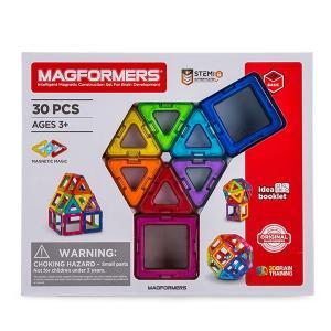 【お盆もあすつく】マグフォーマー Magformers 30ピースセット おもちゃ 玩具 知育玩具 キッズ 空間認識 展開図|glv|06