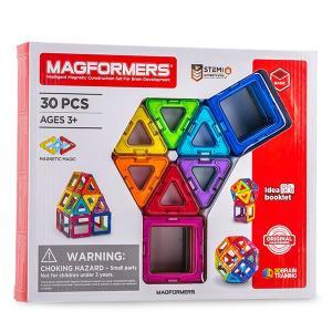 【お盆もあすつく】マグフォーマー Magformers 30ピースセット おもちゃ 玩具 知育玩具 キッズ 空間認識 展開図|glv|07
