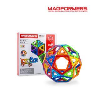 マグフォーマー Magformers 62ピース おもちゃ ...