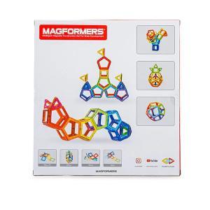 【お盆もあすつく】マグフォーマー Magformers 62ピース おもちゃ 玩具 知育玩具 キッズ 空間認識 展開図 glv 07