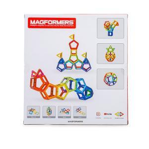 【お盆もあすつく】マグフォーマー Magformers 62ピース おもちゃ 玩具 知育玩具 キッズ 空間認識 展開図 glv 09