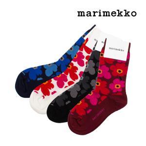 【国内検針済】 マリメッコ Marimekko 靴下 ウニッコ ソックス Hieta おしゃれ 花柄 くつ下 039859 Unikko socks cont ss13 プレゼント ギフト