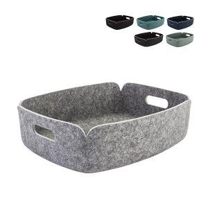 ムート Muuto RESTORE TRAY リストア トレイ フェルト バスケット 収納ボックス 北欧 雑貨 デザイン かご リビング オフィス インテリアの写真