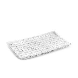 売り尽くし ナハトマン Nachtmann ダンシングスター ボサノバ 81399 レクタングラープレート 28cmx14cm|glv