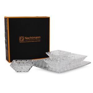 ナハトマン Nachtmann ボサノバ ボウル&プレート 5点セット スクエアプレート スクエアボウル 90023 Bossa Nova 皿 プレート 食器 ガラス|glv|11