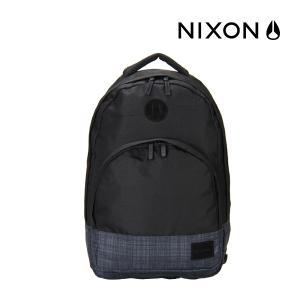 【全品あすつく】Nixon ニクソン Grandview グランドビュー Grandview Backpack 25L グランドビューバックパック ブラック/ブラックウォッシュ C2189 バッ|glv