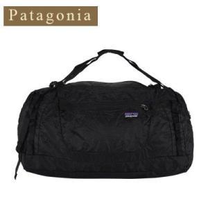 パタゴニア PATAGONIA LW TRAVEL DUFFEL ライトウェイトトラベルダッフル ボストンバッグ バックパック BLACK 48822-155|glv