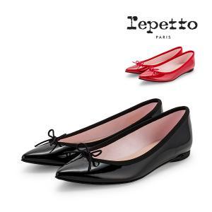 レペット Repetto バレエシューズ ブリジット エナメル V1556V BRIGITTE フラットシューズ レディース 革靴 レザー ポインテッドトゥ|glv