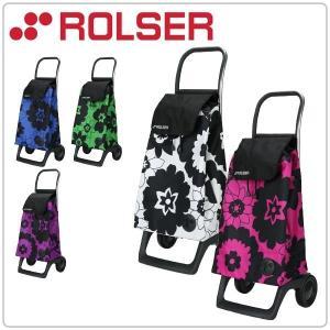 ロルサー Rolser ベイビー フラワー ジョイ Baby Flor Joy-1800 花柄 ショッピングカート おしゃれ カート BAB002|glv