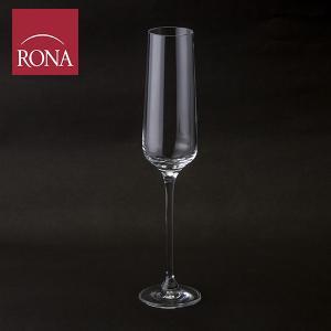 ロナ Rona シャンパングラス 190mL スタイリッシュ シャンパーニュ フルート グラス 6044-190 Charisma Champagne Flute|glv