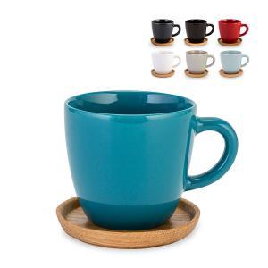 【お盆もあすつく】ロールストランド Rorstrand コーヒーマグ&ウッドソーサー 330mL ホガナス ケラミック マグカップ 北欧 コーヒーカップ ソーサー glv