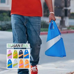 スーザン ベル Susan Bijl バッグ Mサイズ ショッピングバッグ Untitled エコバッグ ナイロン 大容量 glv