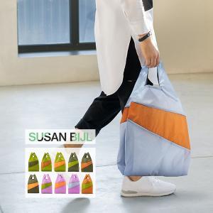 スーザン ベル Susan Bijl バッグ Lサイズ ショッピングバッグ Untitled エコバッグ ナイロン 大容量 glv