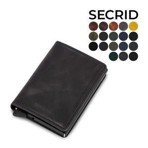 セクリッド シークリッド Secrid スリムウォレット Slim Wallet ビンテージ Vin...