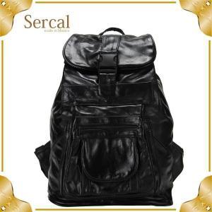 Sercal サーカル 正規輸入品 Leather Back Pack レザーバックパック SL503 リュックサック|glv