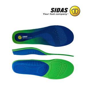 シダス Sidas インソール コンフォート3D 310894000 オールラウンド Insoles Comfort 3D Blue/Green/Blue 中敷き シューズアクセサリー【5%還元】