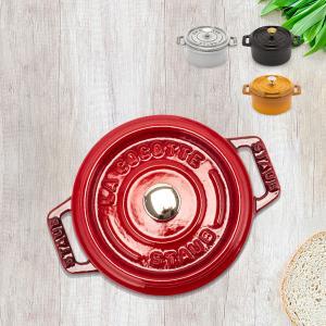 ストウブ ピコココットラウンド 10cm 両手鍋 本格派 調理器具 鋳鉄ホーロー 人気 焦げにくい1...