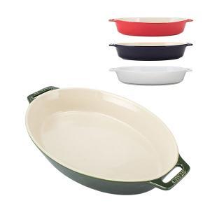 ストウブ Staub オーバルディッシュ 37cm グラタン皿 40511 Roasting Dish oval 食器 キッチン グラタン 皿 耐熱 オーバル オーブン|glv