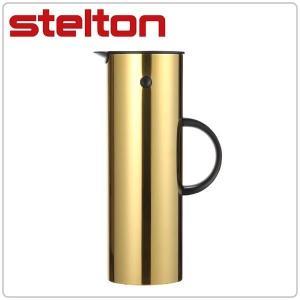 ステルトン Stelton サーモジャグ Isolierkanne brass ブラス 900-3 保温ポット 北欧 キッチン|glv