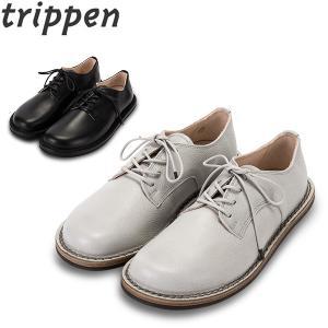 トリッペン Trippen レースアップ シューズ SPRINT スプリント 牛革 BOX / LUX レディース 靴 レザーシューズ|glv