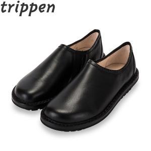 トリッペン Trippen レザー スリッポン シューズ YEN 牛革 BOX レディース 靴 レザーシューズ|glv